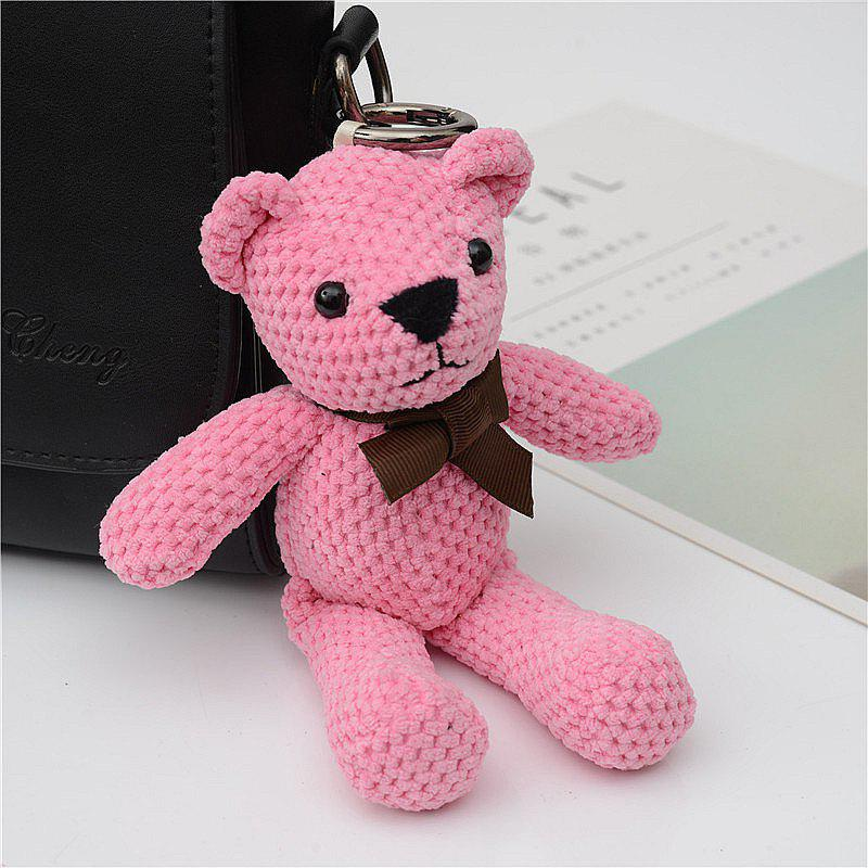 Hot Fashionable Toy Bear Key Chain Bag Accessories