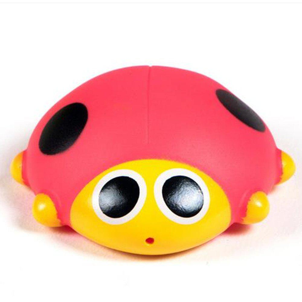 New Cute Animals Floating Squeeze Sounding Baby Bath Toys Soft Rubber Kids Children Swimming pool Toy Frog Baby Shower