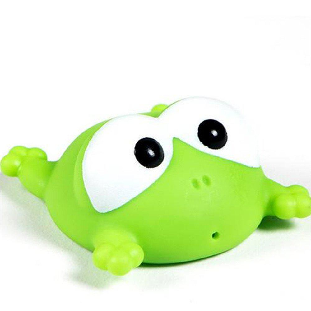 Discount Cute Animals Floating Squeeze Sounding Baby Bath Toys Soft Rubber Kids Children Swimming pool Toy Frog Baby Shower
