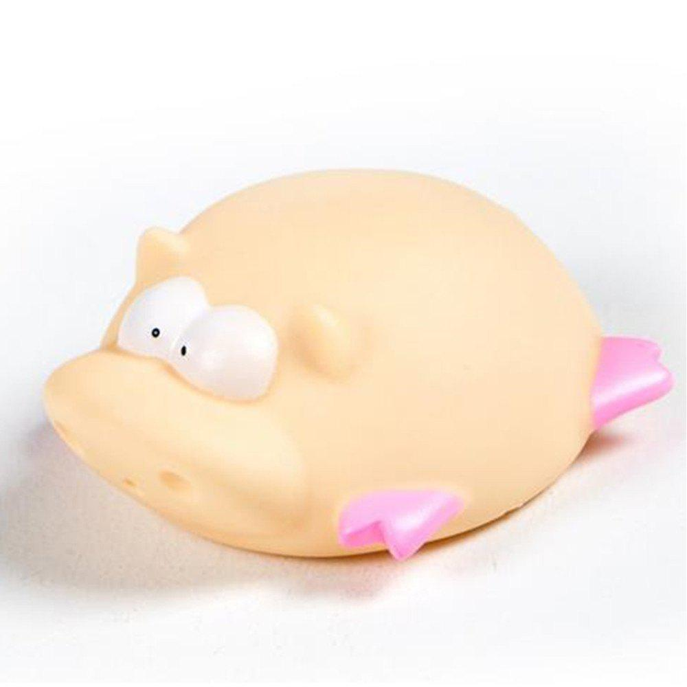 Best Cute Animals Floating Squeeze Sounding Baby Bath Toys Soft Rubber Kids Children Swimming pool Toy Frog Baby Shower