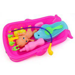 Cognitive Bathtub Floating Toy Bathroom Game Play Set Early Educational Newborn Gift Baby Bath Toys -