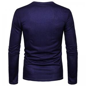 Men'S Personality Fashion Cartoon Camel 3D Printed Round Collar Long Sleeved T-Shirt CT363 -