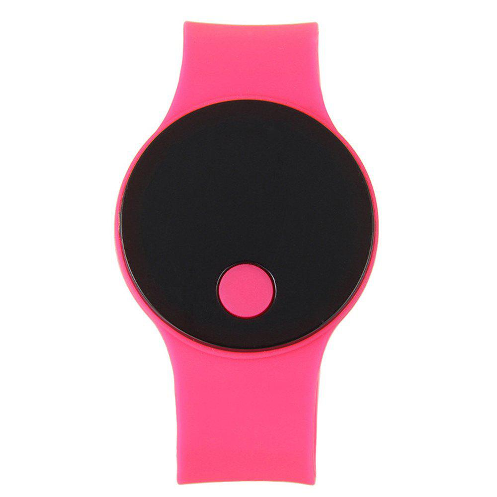 Unique LED Wristbands Waterproof Clock Men Women Fashion Silicon Luminous Electronic Student Sport Wrist Watches Gift
