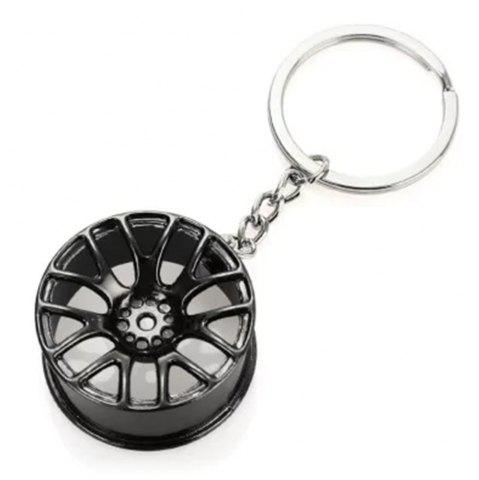 Buy Wheel Hub Alloy Key Chain Wallet Decor Keyring Pendant Decoration