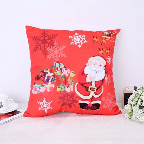Discount Christmas Santa Claus Stamp Pillow