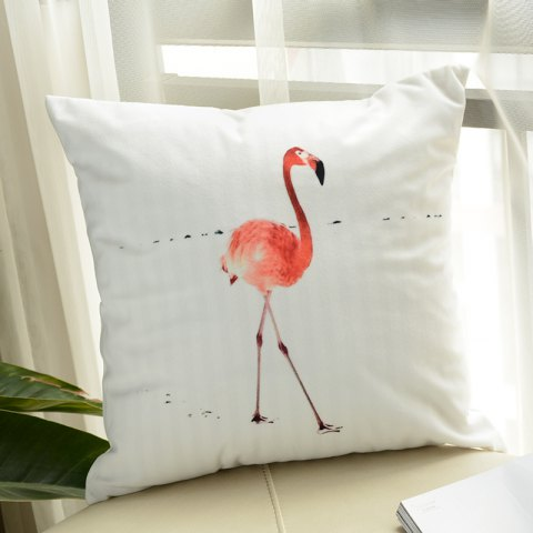 Shop Flamingo Pillow Macaron Printing Super Soft Cushion