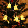 BRELONG Christmas lights string For Christmas Indoor Decorations 1m10LED 1pcs -