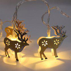 BRELONG LED Christmas Elk light string Holiday decoration -1.5m10led -