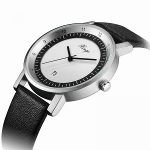 Xinge Hommes Date Calendrier Cuir Bande montres XG001 -