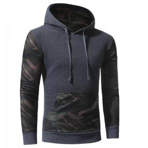 Men's Casual Hoodie Solid Micro-elastic Cotton Long Sleeves Fall Winter -