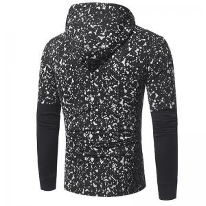 Men's Casual Daily Simple Hoodie Print Hooded Micro-elastic Cotton Long Sleeve Fall Winter -