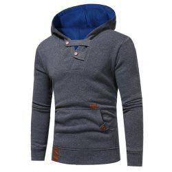 Hot Sale Men's Sports Holiday Casual Daily Hoodie Solid Oversized Hooded Micro Elastic Cotton Long Sleeve Fall Winter -