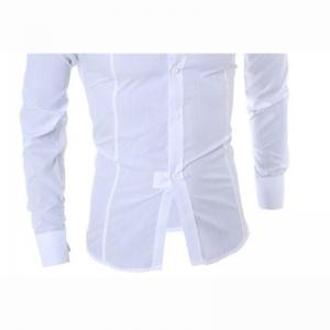 Men's Long Sleeve Shirt Cotton Blend Casual Plaids -