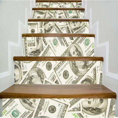 Unique USD Pattern Style Stair Sticker Wall Decor LTT030