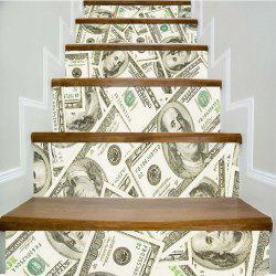 USD Pattern Style Stair Sticker Wall Decor LTT030 -