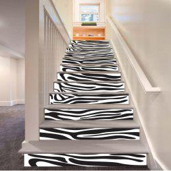 Stripe Pattern Style Stair Sticker Wall Decor LTT037 -