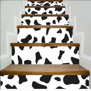 Dot Pattern Style Stair Sticker Wall Decor LTT038 -