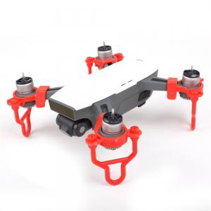 Propeller Guards Landing Gear Stabilizers Finger Guards Protection Combo for DJI SPARK -