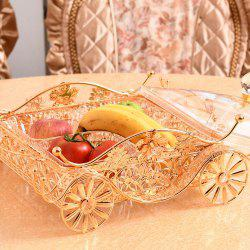 Exquisite metal hollow with a fruit tray fruit basket hotel appliancesSGL01-4 -
