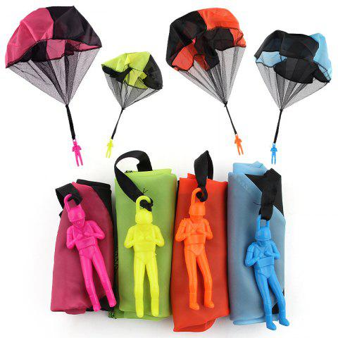 Fashion Children Throwing Soldiers Parachute Chamber Outdoor Sports Strange New Toy