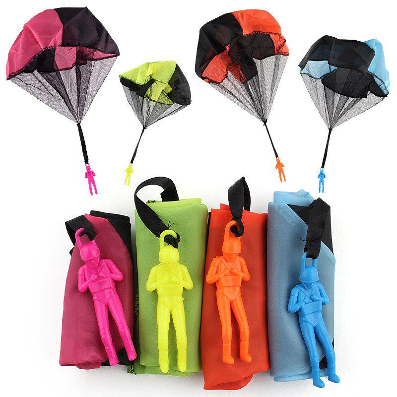 Fashion Children Throwing Soldier Parachute Chamber Outdoor Sport Classic Toy