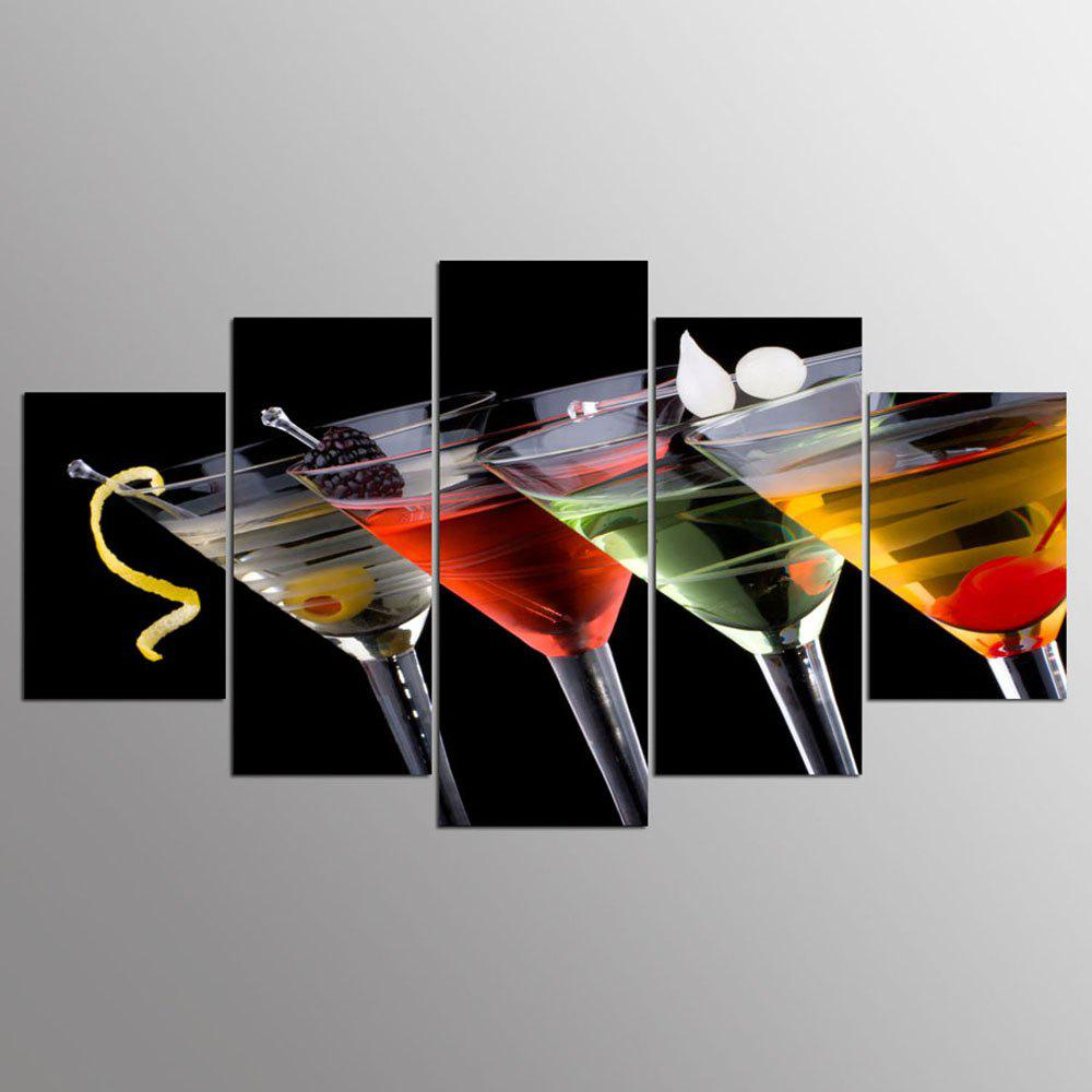 New YSDAFEN HD Drinks Group Canvas Print Room Decor Print Poster Picture