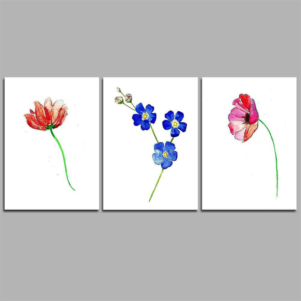 2018 Hua Tuo Flower Style Stretched Frame Ready To Hang Size 50 X ...