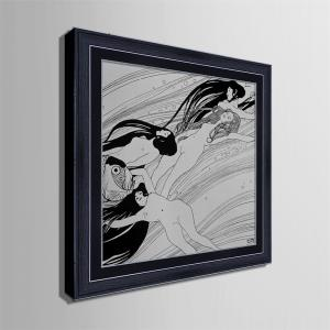 Special Design Frame Paintings Drifting Print -