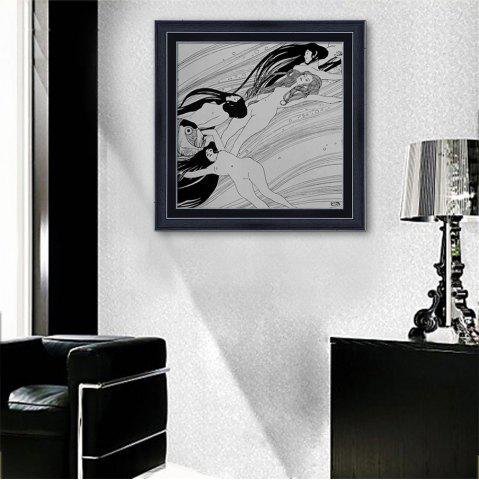 Trendy Special Design Frame Paintings Drifting Print