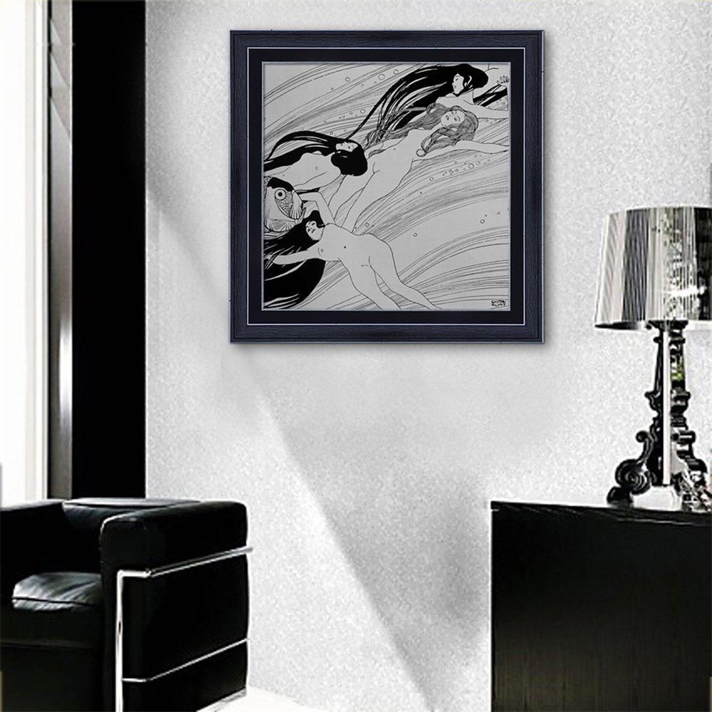 Hot Special Design Frame Paintings Drifting Print