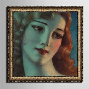 Special Design Frame Paintings Elegant Beauty Print -