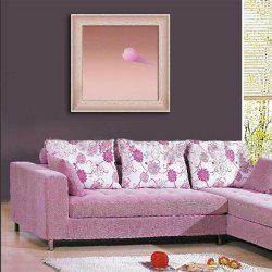 Special Design Frame Paintings Pink Clouds Print -