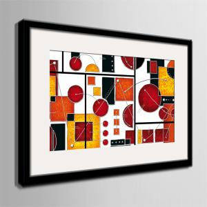 Special Design Frame Paintings Abstraction Print -