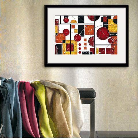 New Special Design Frame Paintings Abstraction Print