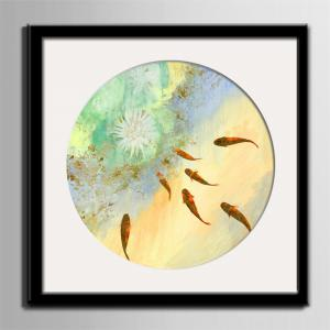 Special Design Frame Paintings Fish Print -