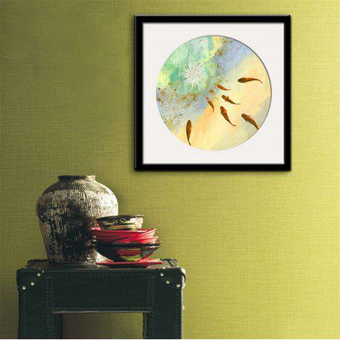 Online Special Design Frame Paintings Fish Print