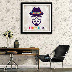Special Design Frame Paintings Human Face Image Print -