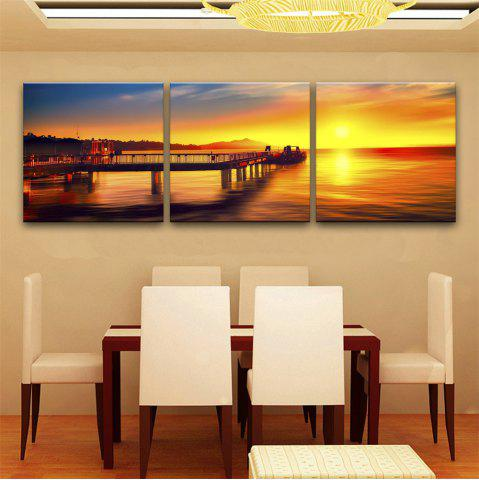 Affordable Special Design Frameless Paintings The sundowners Print 3PCS