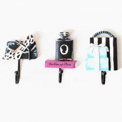 Resin coat hooks three-piece suit -