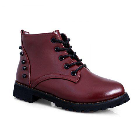 Online JXY105 Autumn New Fashion Lounge Rubber Soles Flat Bottomed Boots