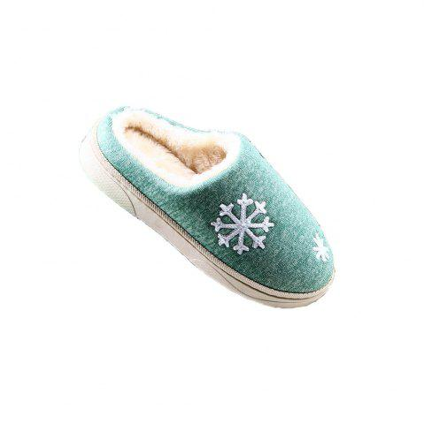 Shops ZEACAVA Snow Warm Comfort Cotton Slippers