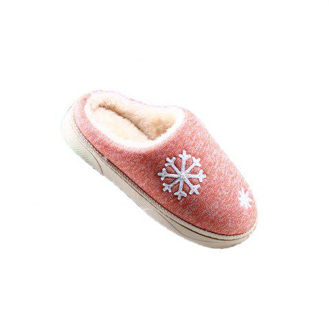 Cheap ZEACAVA Snow Warm Comfort Cotton Slippers