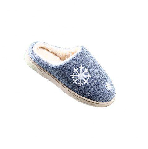 Online ZEACAVA Snow Warm Comfort Cotton Slippers