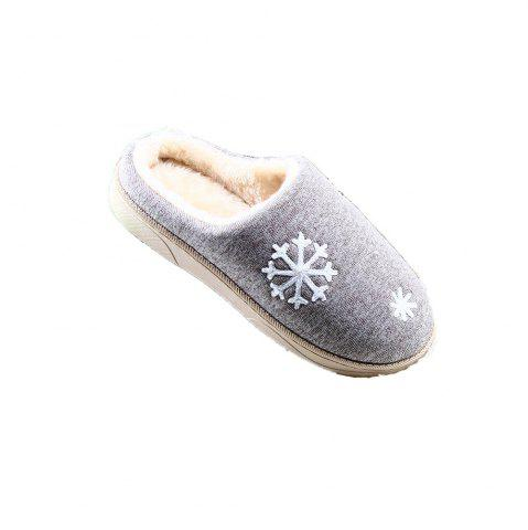 Affordable ZEACAVA Snow Warm Comfort Cotton Slippers