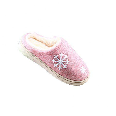 Chic ZEACAVA Snow Warm Comfort Cotton Slippers