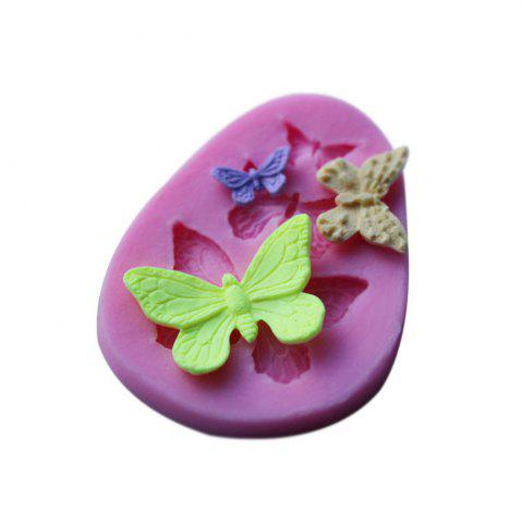 Trendy WS 0229 Butterfly Molding Sugar Cake Silica Gel Mold