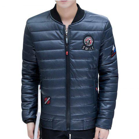 Store Men's Stylish Slim Fit  Leather Jacket