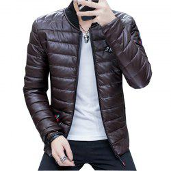 Men's Stylish Slim Fit  Leather Jacket -