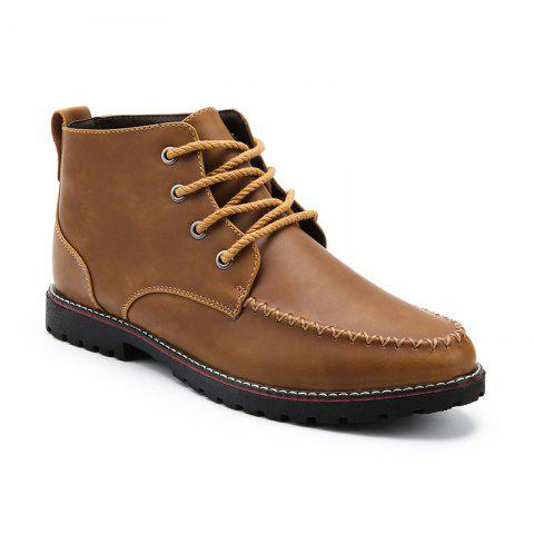 Chic High-Quality Leather Casual Work Men'S Fashion Boots
