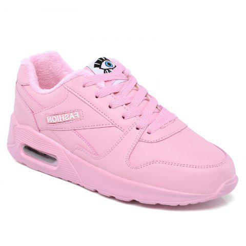 Unique Stylish High Top and PU Leather Design Athletic Shoes for Women